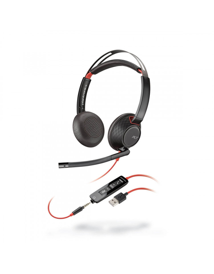 Plantronics Blackwire C5220 USB headset till PC och smartphone