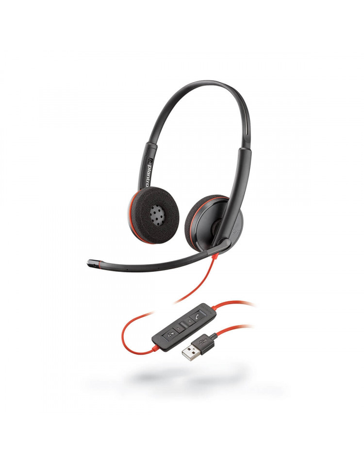 Plantronics Blackwire 3220 kontor headset till PC
