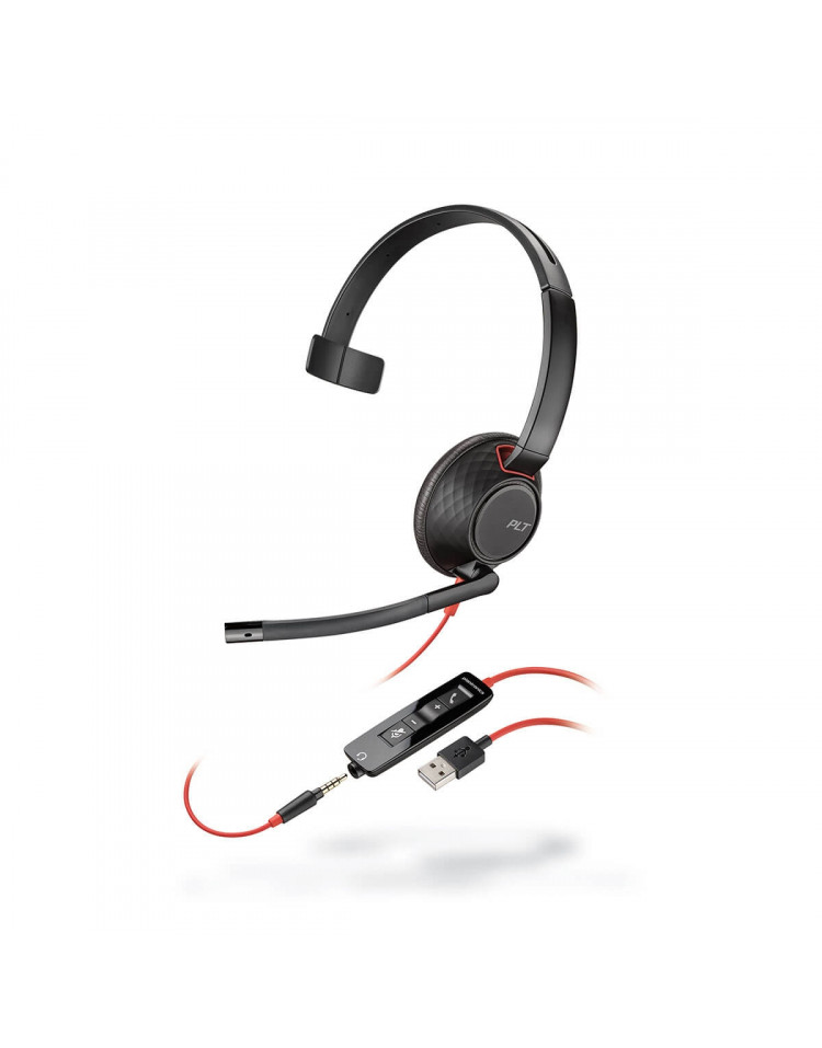 Plantronics Blackwire C5210 USB headset till PC och mobil
