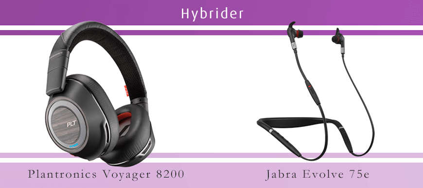Brusreducerande Blueooth headset för musik med mikrofon och ANC
