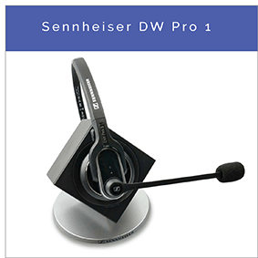 Sennheiser DW Pro 1 trådlöst DECT fast nät och PC headset