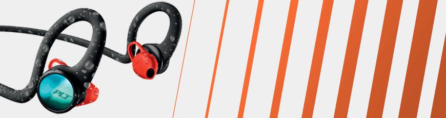 Cykel og mountainbike headset høretelefoner Plantronics BackBeat FIT 2100