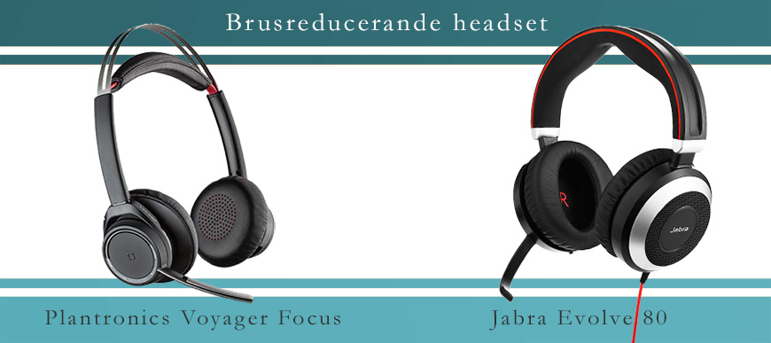 Brusreducerande headset