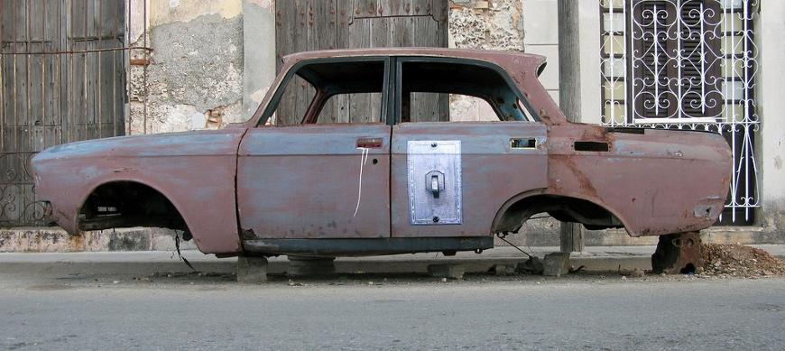 Bil utan hjul