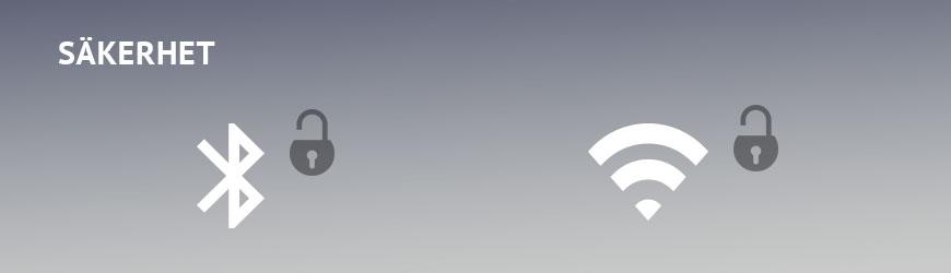 Trådlös kommunikation Bluetooth och DECT säkerhet