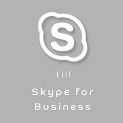 Konferenstelefon Skype for Business