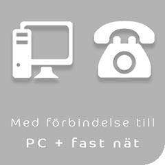 Mobilheadset med förbindelse till PC och fast telefon