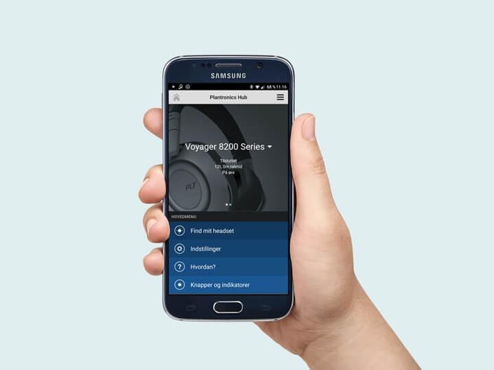 Plantronics Hub för mobil