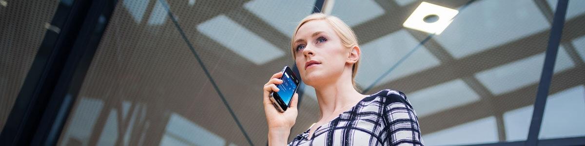 SpeechLive diktera på mobil